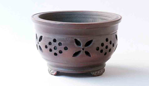 Bigei Incense-burner Shaped Unglazed Bonsai Pot +++ Shipping Free!!!