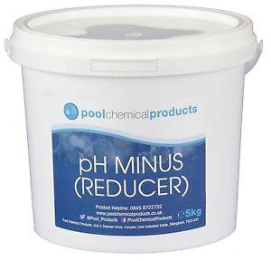 Pool chemical products- PH minus (Reducer) 5KG