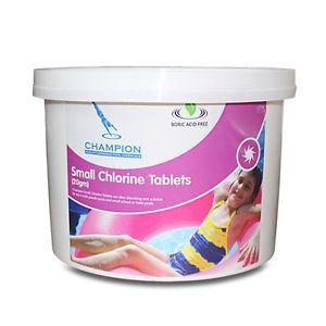 Champion- small chlorine tablets 2KG