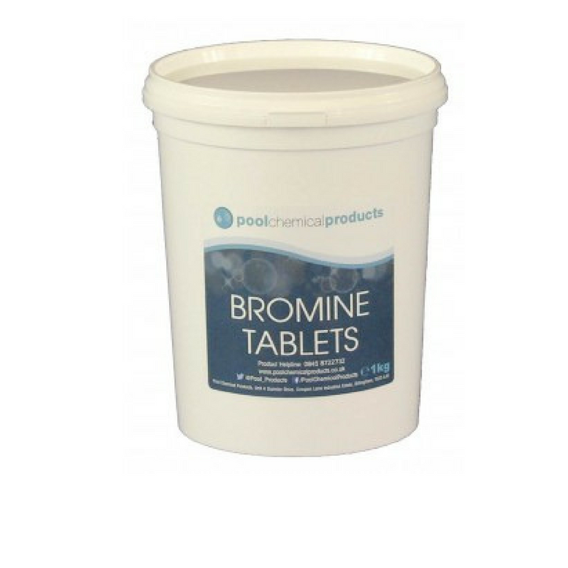 Pool chemical products - Bromine Tablets