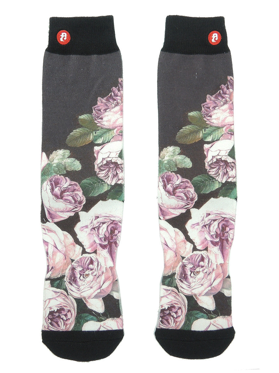 FOOL'S DAY Pink Rose Athletic Socks