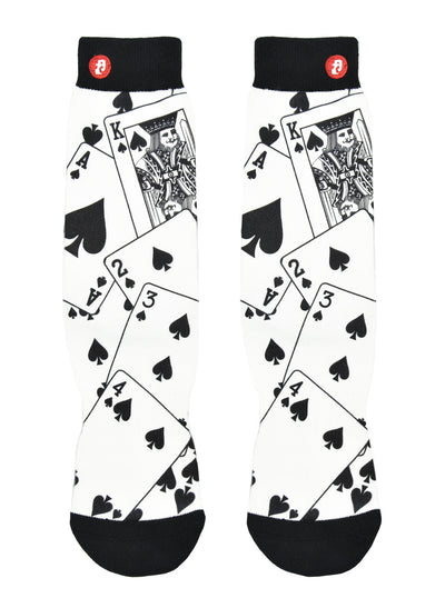 Mens Cool Show Hand Crew Socks