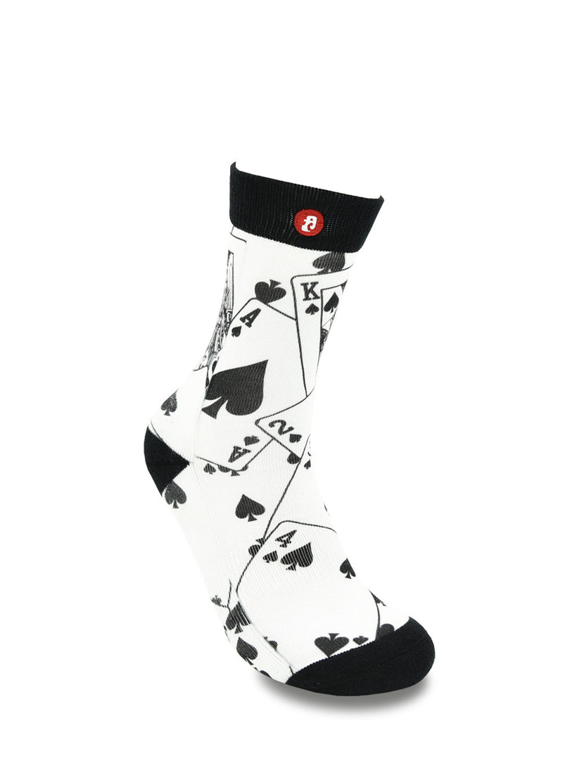 Men's Cool Show Hand Crew Socks