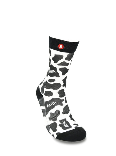 Mens Cool Daily Milk Crew Socks