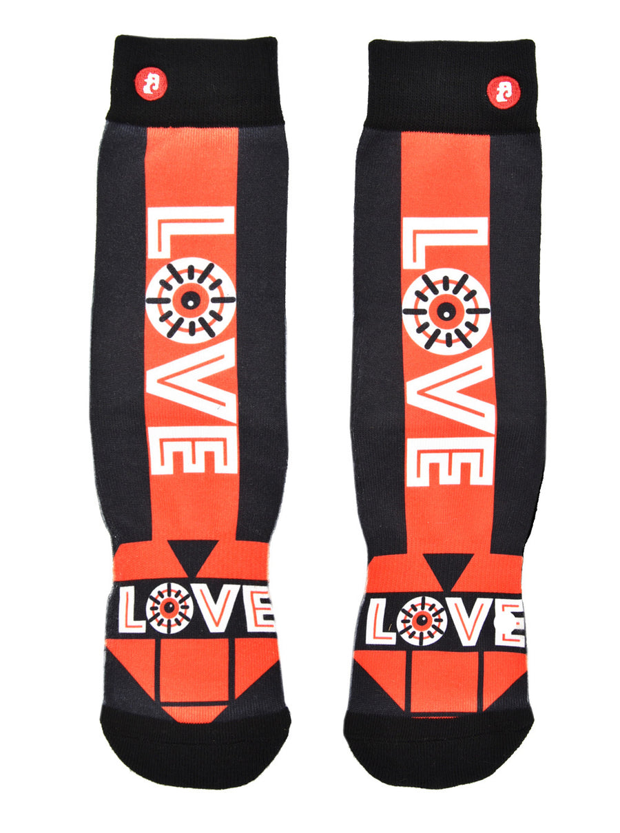 FOOL'S DAY Love Arrow Athletic Socks
