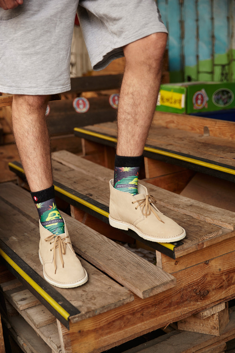 FOOL'S DAY Reggae Reggae Athletic Socks