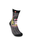 Mens Glam Rocker Novelty Crew Socks