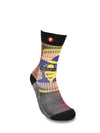 Mens King Of Pop Novelty Crew Socks
