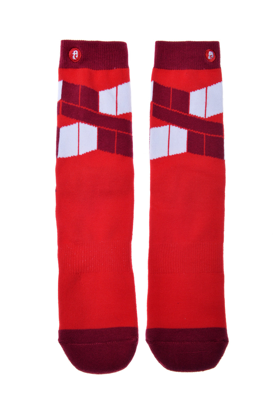 FOOL'S DAY The Flag Red Athletic Socks