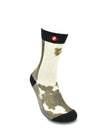 Mens Daily Cattle Crew Funny Socks