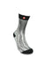 FOOL'S DAY Silver Fox Fur Athletic Socks