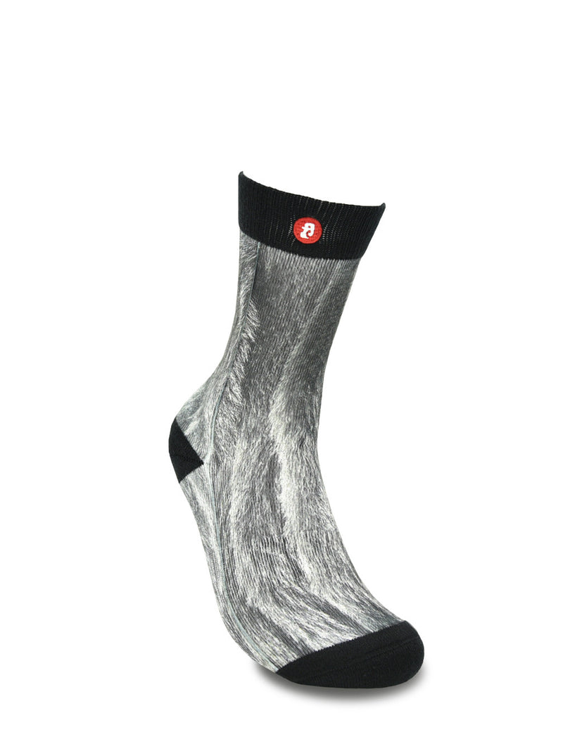 Mens Silver Fox Crew Socks