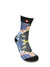 FOOL'S DAY Black Cat Athletic Socks