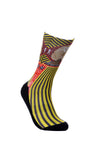 Mens Sphinx Novelty Sheer Fun Dress Socks