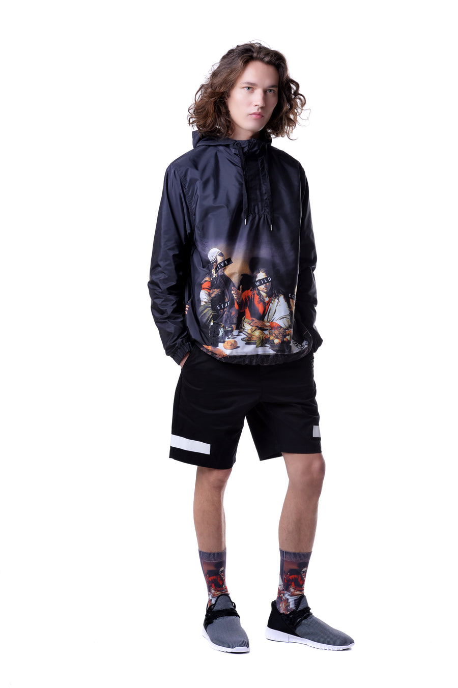 FOOL'S DAY Mens Dining Windbreaker
