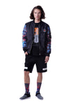 Fools Day Halo Dave Bomber Jacket (Men)
