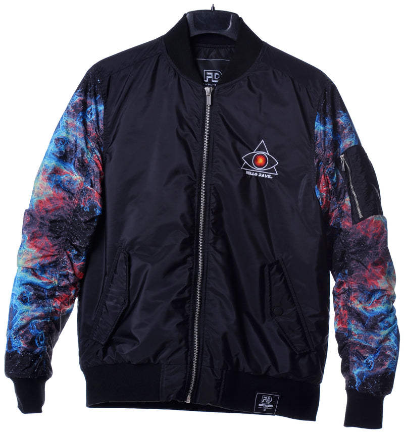 Fool's Day Halo Dave Bomber Jacket (Men)