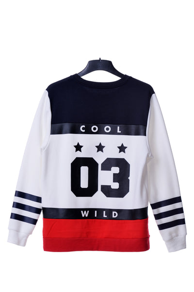 Fools Day Cool & Wild 03 Sport Crew Neck Sweater (Women)