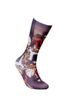 Mens Dinning Novelty Sheer Fun Dress Socks