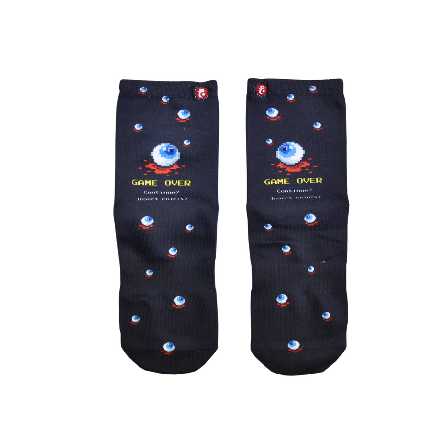 FOOL'S DAY Madama-Eye Q Athletic Socks