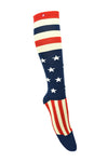Men/ Womens Star Stripes Kh Knee High Socks
