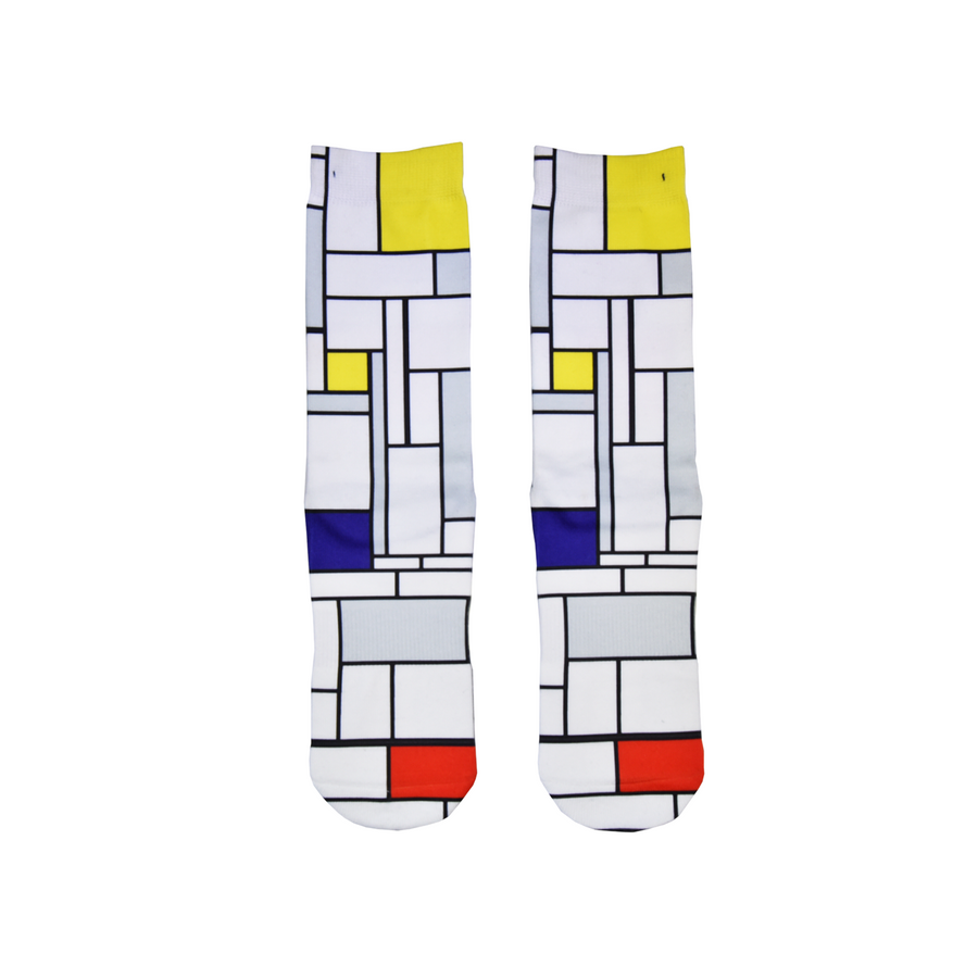 FOOL'S DAY Composition Athletic Socks