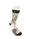 Mens The Touch Crew Novelty Socks