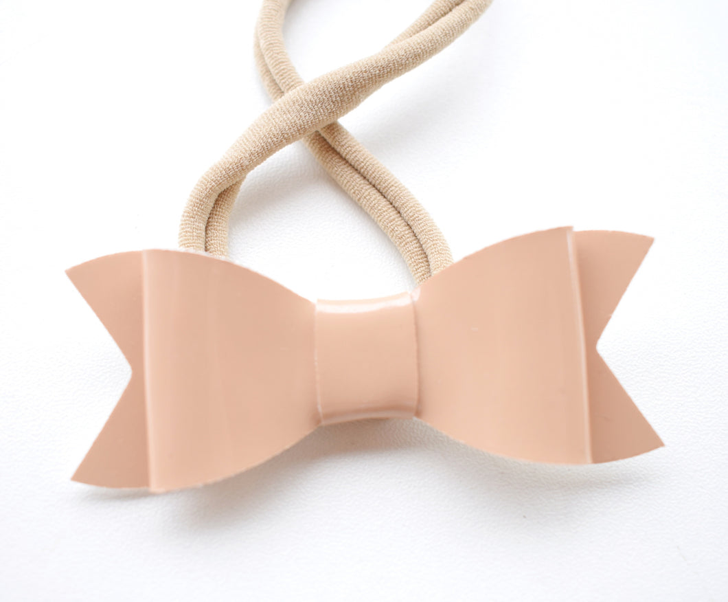 Tan Bow glitter bow, leatherette bow, fringe clip, butterfly bow, personalised bow, rainbow bow, dolly hair bow, floral bow, shimmer bow, pretty bow , Bow Handmade Hairbow, handmade hair accessories, Sweet Adalyn Sweet Adalyn