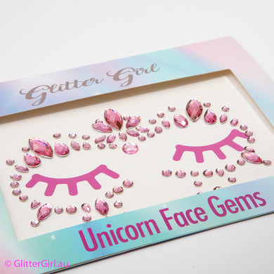 Unicorn Face Gems – Sherbet Sweet Lips glitter bow, leatherette bow, fringe clip, butterfly bow, personalised bow, rainbow bow, dolly hair bow, floral bow, shimmer bow, pretty bow , Makeup Handmade Hairbow, handmade hair accessories, Sweet Adalyn Sweet Adalyn