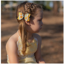 Sunflower glitter bow, leatherette bow, fringe clip, butterfly bow, personalised bow, rainbow bow, dolly hair bow, floral bow, shimmer bow, pretty bow , Bow Handmade Hairbow, handmade hair accessories, Sweet Adalyn Sweet Adalyn