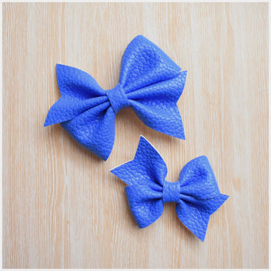 Addison- Blue glitter bow, leatherette bow, fringe clip, butterfly bow, personalised bow, rainbow bow, dolly hair bow, floral bow, shimmer bow, pretty bow , Bow Handmade Hairbow, handmade hair accessories, Sweet Adalyn Sweet Adalyn