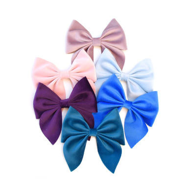 Sailor- Velvet glitter bow, leatherette bow, fringe clip, butterfly bow, personalised bow, rainbow bow, dolly hair bow, floral bow, shimmer bow, pretty bow , Bow Handmade Hairbow, handmade hair accessories, Sweet Adalyn Sweet Adalyn