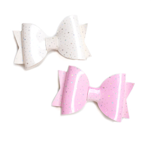Colour Changing Pigtail Bows