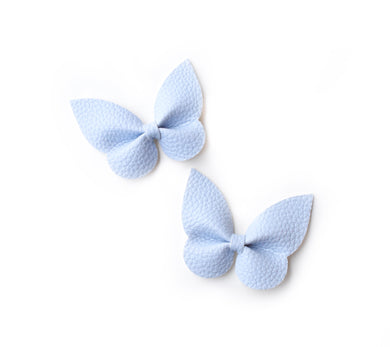 Holly Pigtail Set- Powder Blue