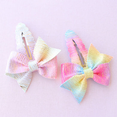Jessa glitter bow, leatherette bow, fringe clip, butterfly bow, personalised bow, rainbow bow, dolly hair bow, floral bow, shimmer bow, pretty bow , Bow Handmade Hairbow, handmade hair accessories, Sweet Adalyn Sweet Adalyn