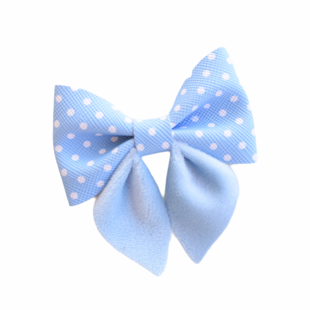 Sailor Mini- Blue Polka Dot