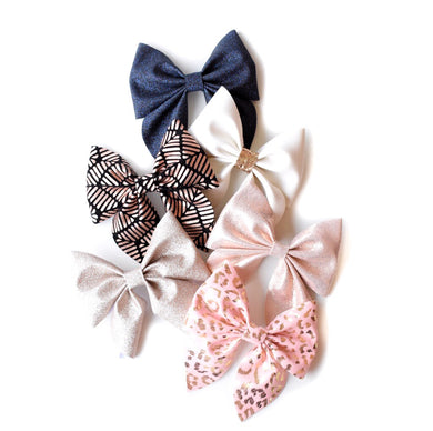 Sailor glitter bow, leatherette bow, fringe clip, butterfly bow, personalised bow, rainbow bow, dolly hair bow, floral bow, shimmer bow, pretty bow , Bow Handmade Hairbow, handmade hair accessories, Sweet Adalyn Sweet Adalyn