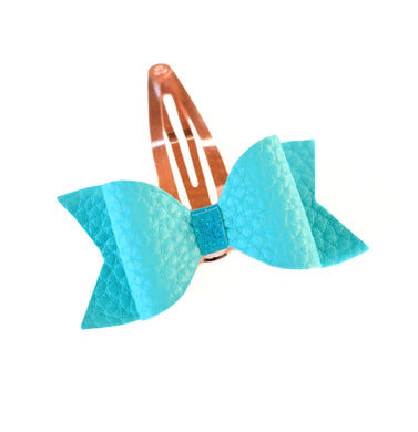 Aqua Fringe Clip glitter bow, leatherette bow, fringe clip, butterfly bow, personalised bow, rainbow bow, dolly hair bow, floral bow, shimmer bow, pretty bow , Bow Handmade Hairbow, handmade hair accessories, Sweet Adalyn Sweet Adalyn