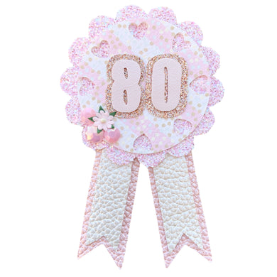 Birthday Badge- Hearts