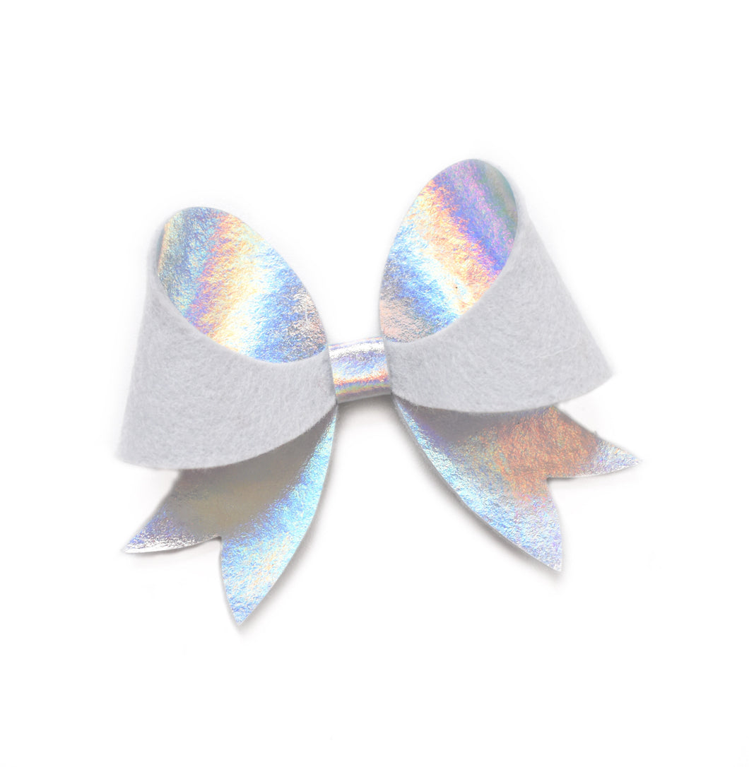 Laurel- Silver Holographic