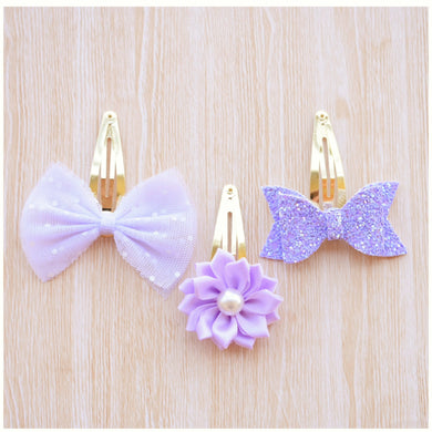 Violet Fringe Set glitter bow, leatherette bow, fringe clip, butterfly bow, personalised bow, rainbow bow, dolly hair bow, floral bow, shimmer bow, pretty bow , Bow Handmade Hairbow, handmade hair accessories, Sweet Adalyn Sweet Adalyn