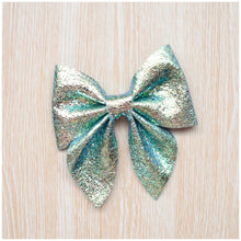 Sailor- Mermaid glitter bow, leatherette bow, fringe clip, butterfly bow, personalised bow, rainbow bow, dolly hair bow, floral bow, shimmer bow, pretty bow , Bow Handmade Hairbow, handmade hair accessories, Sweet Adalyn Sweet Adalyn