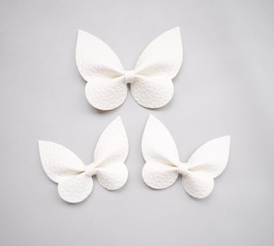 Holly Pigtail Set- White