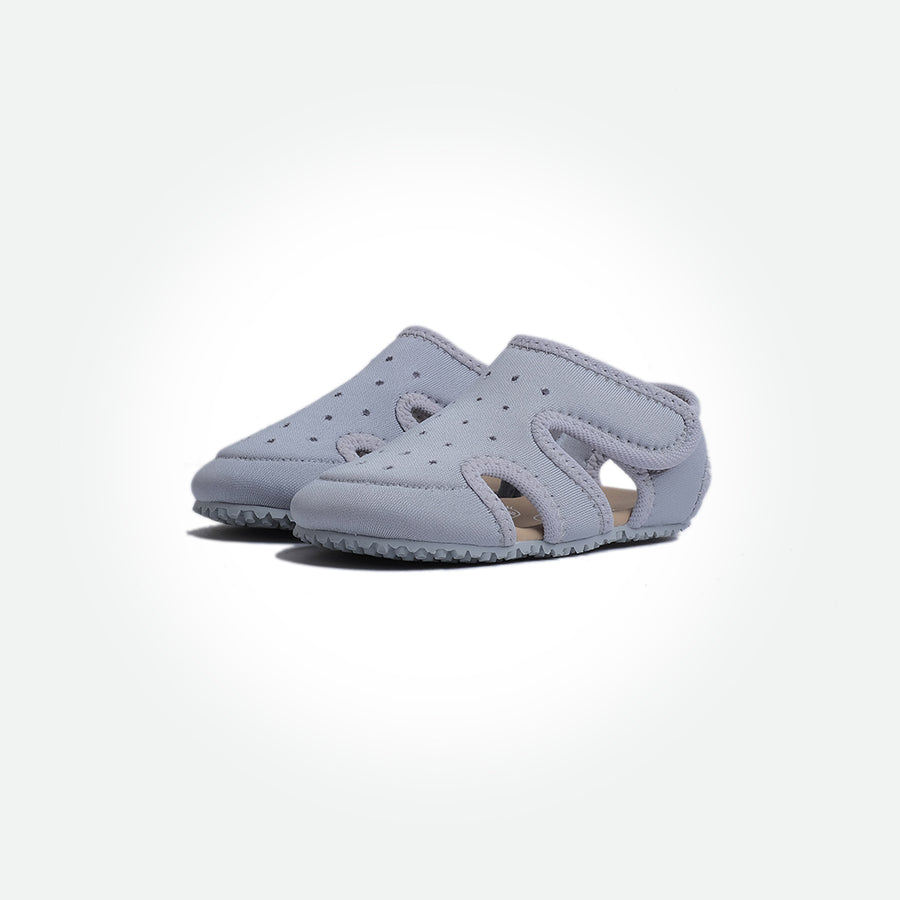 Ninja Barefoot Sandals - Grey - Pyopp Barefoot Shoes For Babies & Kids