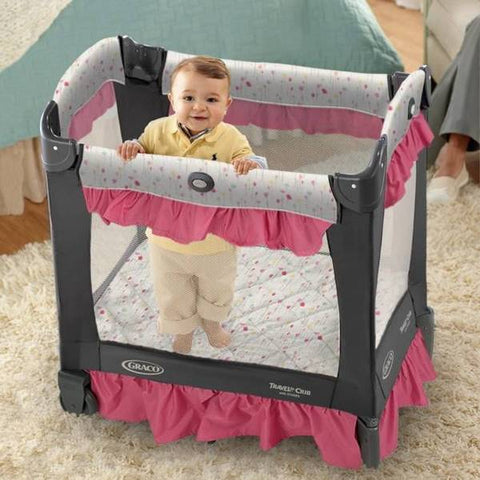 Baby To Toddler Travel Stages Crib - orcacare
