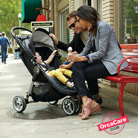 3 Wheels Single Baby Stroller - orcacare