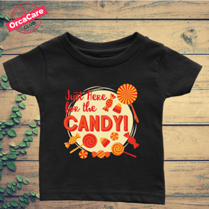 Just Here For The Candy  - Shirt - orca care