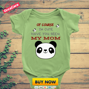 Of Course I'm Cute - orca care