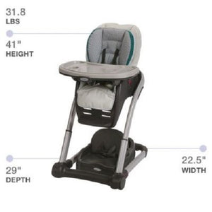 6-In-1 Convertible High Chair