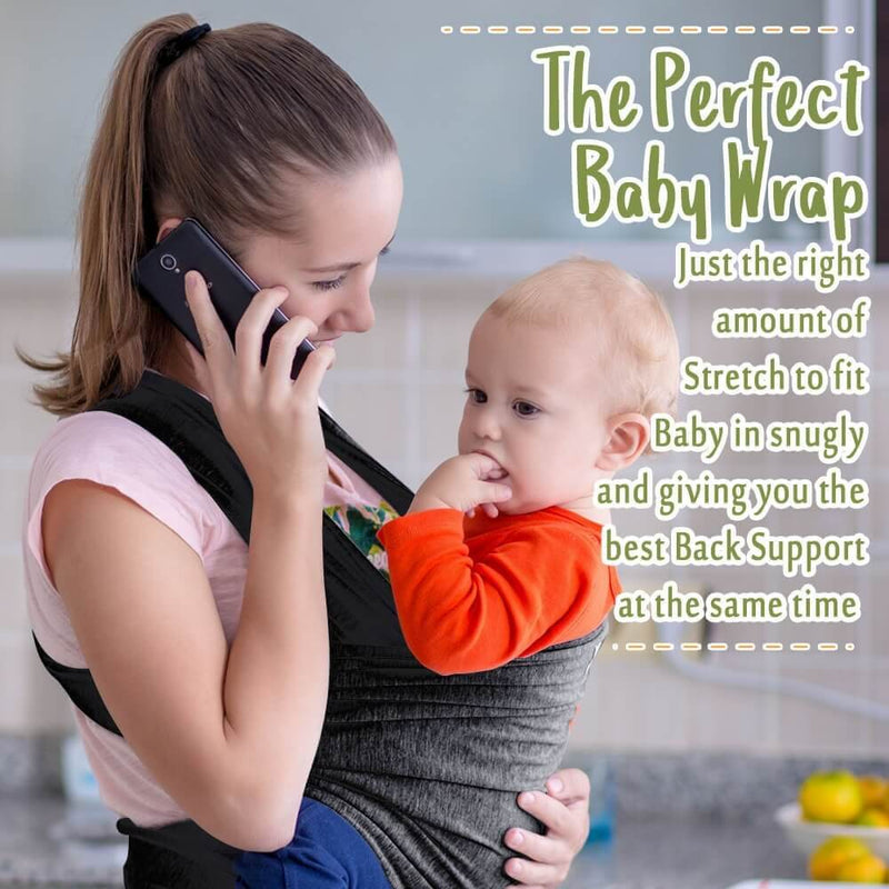 One Size All-In-1 Baby Wrap Carrier - orca care